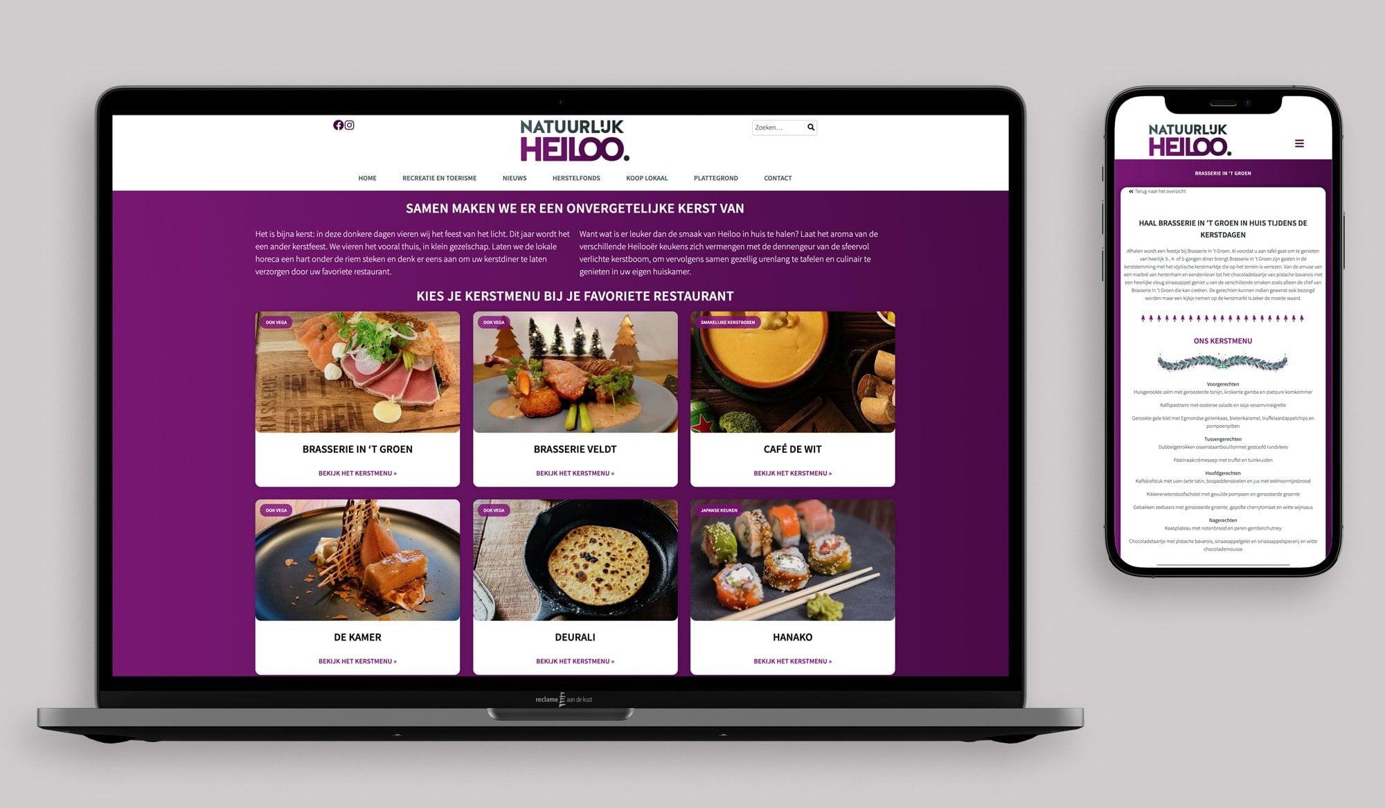 Natuurlijk Heiloo website