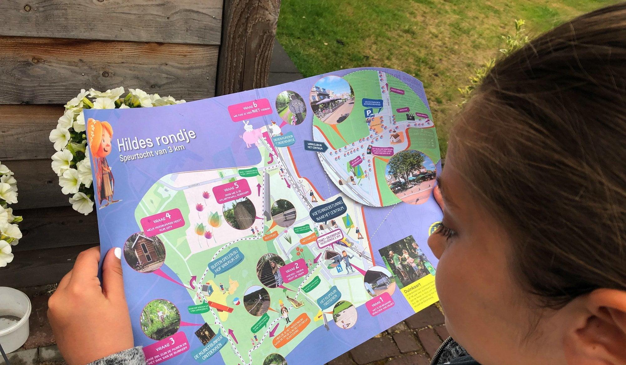 Voor liefhebbers route voor kids